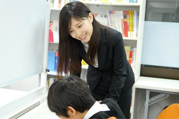 生徒の喜びの顔を間近で感じられる!