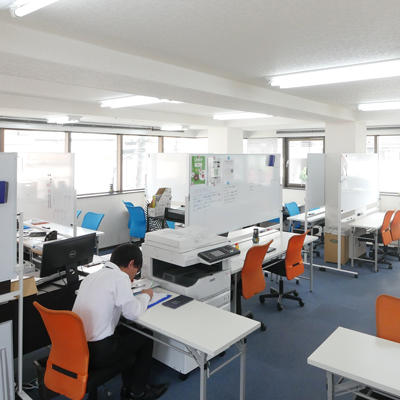 南浦和教室の風景
